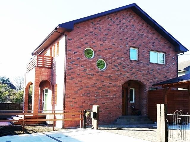 煉瓦の家完成