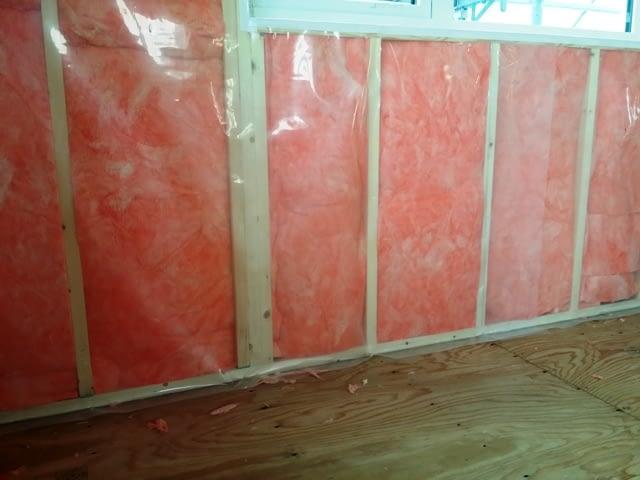 壁充填断熱