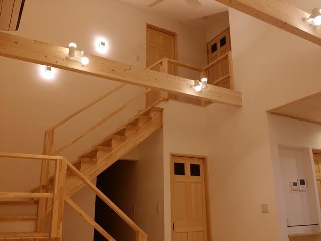 ストリップ階段。
