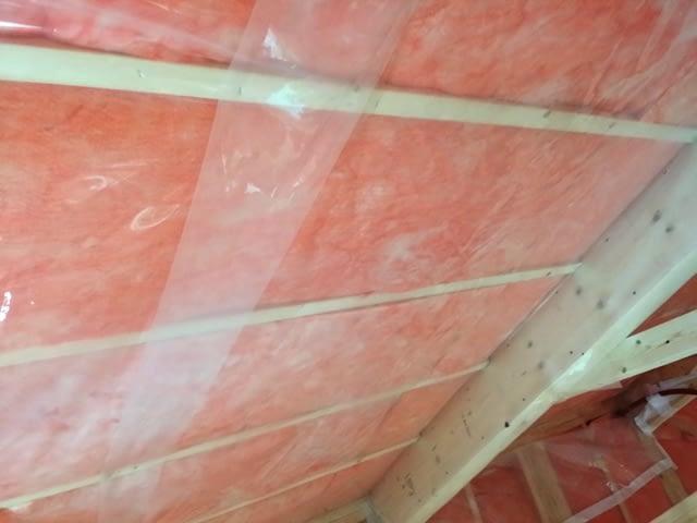 屋根充填断熱