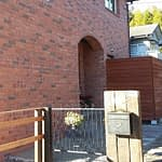 煉瓦の家外構工事完了